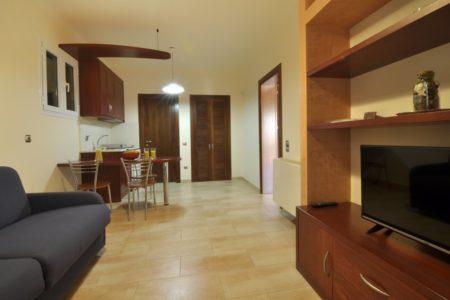 Lounge area in Villa aeolos in Corfu