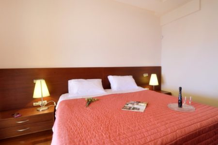 Bedroom of villa aeolos