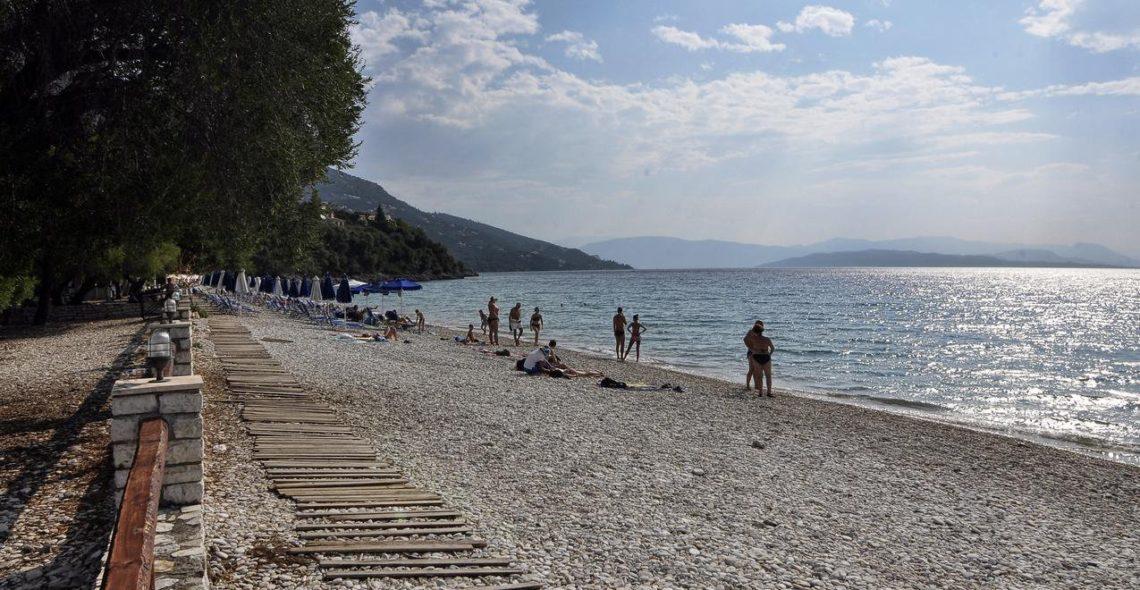 Barbati beach
