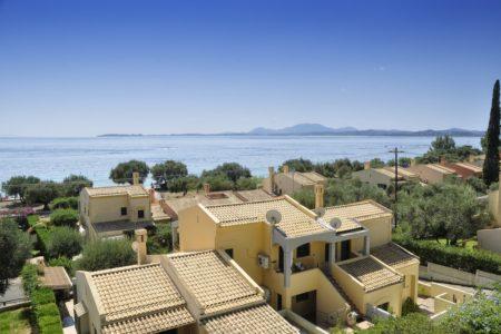 View of the sea from Villa aelos balcony