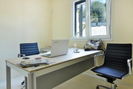 Working area room in Villa Aeolos